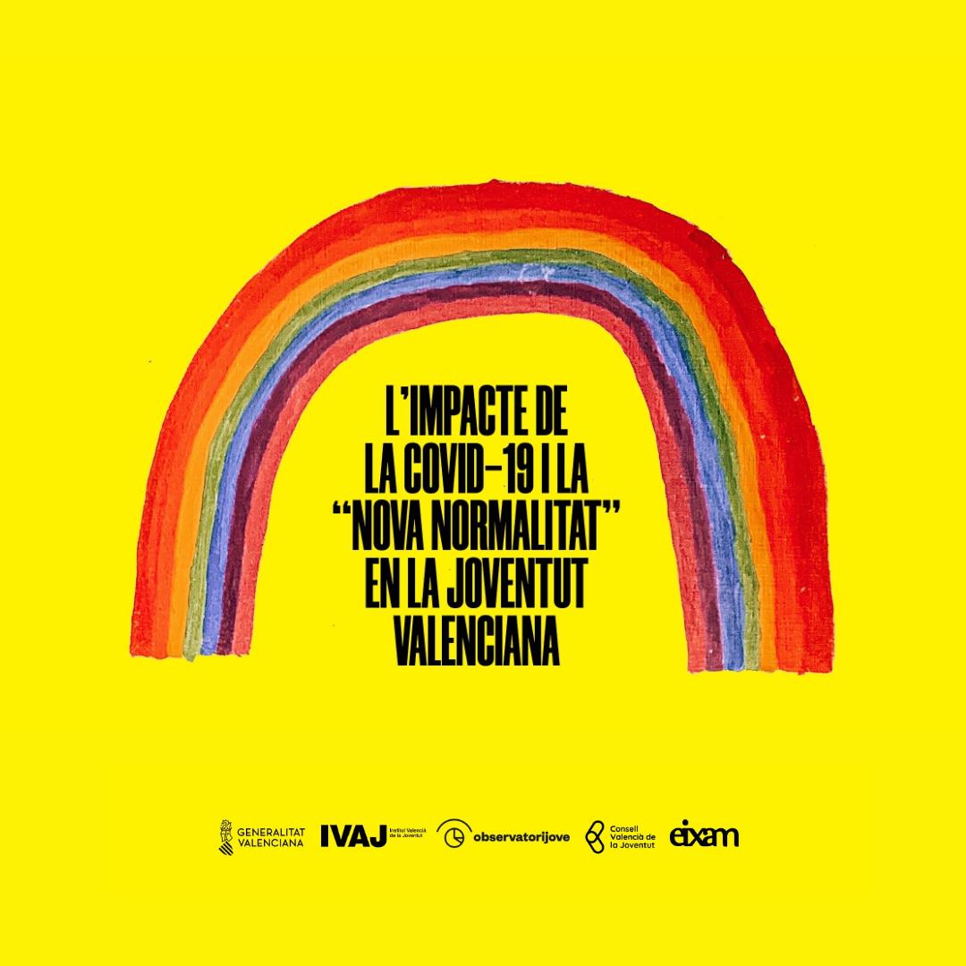 Cartel estudio impacto covid-19 juventud valenciana